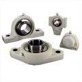 Plastic housed bearing