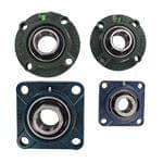 Cast housed bearing - 4 bolts