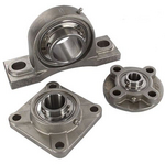 Stainless steel housed bearing