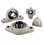 Plastic housed bearing