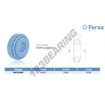 02872-02820-ASFERSA - 28.58x73.03x22.23 mm