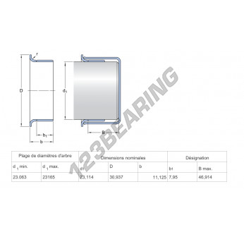 99860-SKF - 23.11x11.13 mm