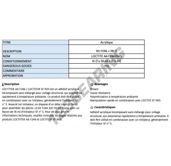 AAF-246-INI5-KIT-55ML-LOCTITE