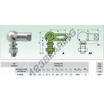 ASL010 - 10x11 mm