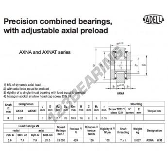 AXNA832-NADELLA - 8x26x18 mm