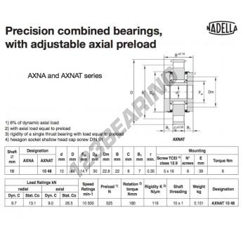 AXNAT1048-NADELLA - 10x30x22 mm