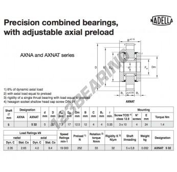 AXNAT532-NADELLA - 5x17x12 mm