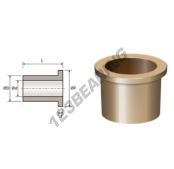 BFMF28-33-38-2.5-36 - 28x33x36 mm