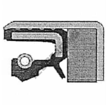 COMBI-65X85X13-17-NBR-CORTECO - 65x85x13 mm