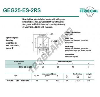 DGEG25-ES-2RS-DURBAL