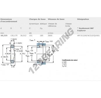 HM911245-W-HM911210-QV001-SKF