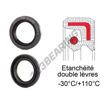 OAS-40X63.65X10-NBR - 40x63.65x10 mm