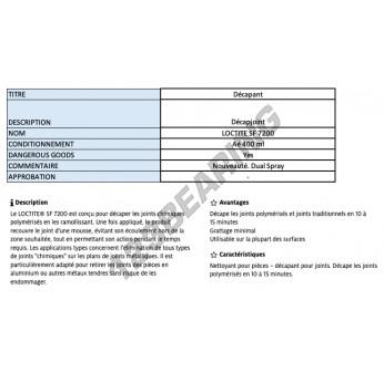 SF-7200-400ML-LOCTITE