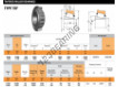 Tapered roller bearing - X30307M-Y30307RM-TIMKEN