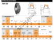 Tapered roller bearing - X33109-Y33109R-TIMKEN