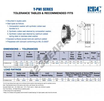 Y176-PWI-CR-DB-RBC - 279.4x317.5x38.1 mm