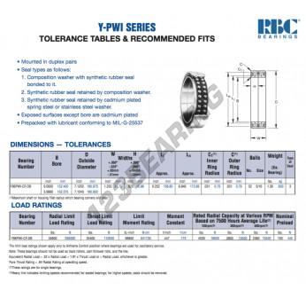 Y96-PWI-CR-DB-RBC - 152.4x180.98x31.75 mm