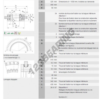 YRT325-INA - 325x450x60 mm